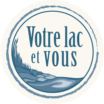 Love your lake logo in french
